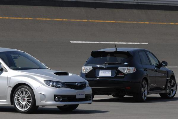 Subaru Impreza WRX STI: encore des photos !