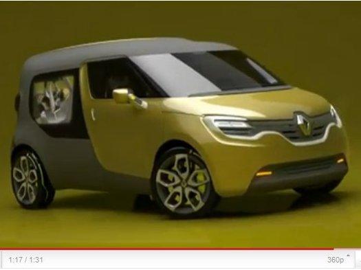 Renault Frendzy, le VUL électrique du renouveau