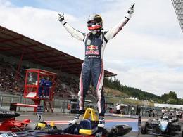 """""""Hat Trick"""" pour Jean-Eric Vergne à Spa en British F3!"""