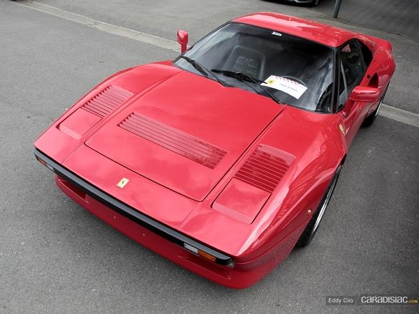 Photos du jour : Ferrari 288 GTO (Spa Classic)