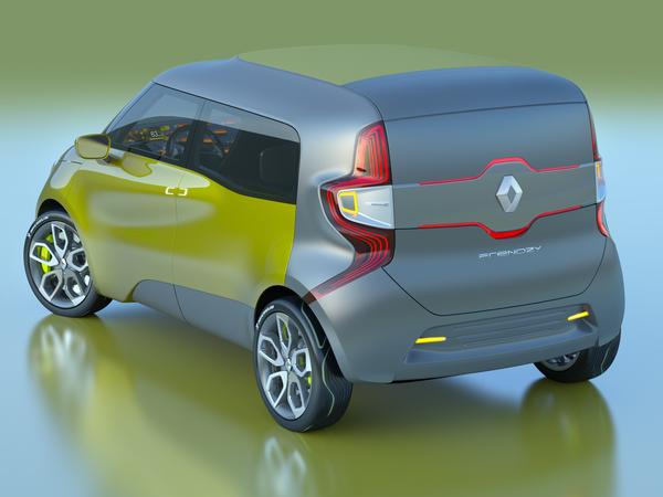 Nouveau Renault Frendzy Concept : toutes les photos et les infos