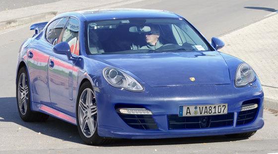 Porsche Panamera: comme ça ?