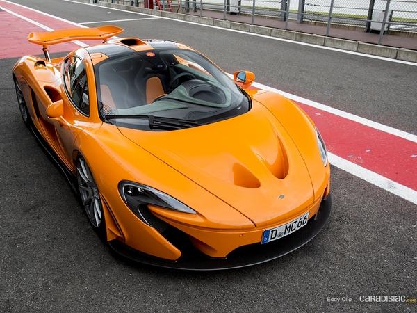 Photos du jour : McLaren P1 (Modena track Days)