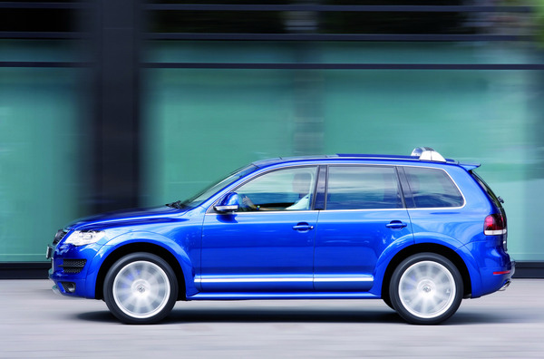 VW Touareg R50: encore des photos !