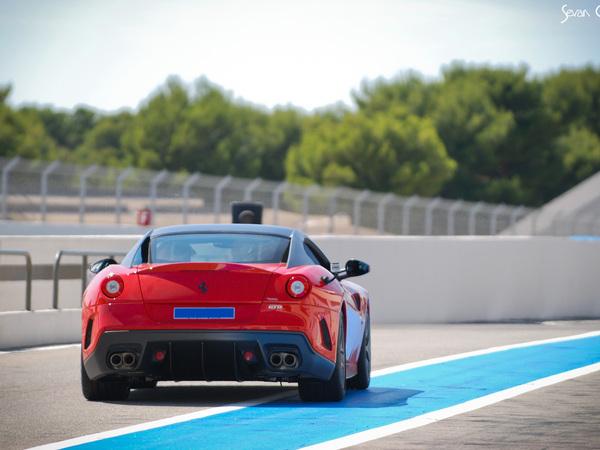 Rencontre avec la Ferrari 599 GTO sur le Paul Ricard HTTT