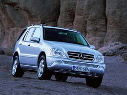 Mercedes ML I : la fiche occasion