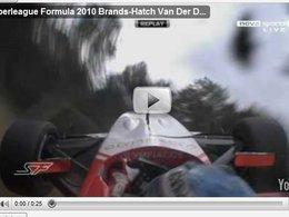 [vidéo] Superleague Formula : Van der Drift le miraculé