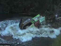 Vanilla Ice fait le grand saut (dans l'eau) avec une Cadillac