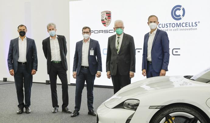 Porsche va produire des batteries très haut de gamme en Allemagne