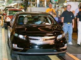 Chevrolet Volt électrique : Barack Obama a visité l'usine de Detroit-Hamtramck