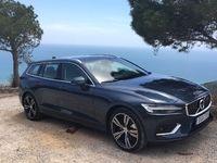 Volvo V60 (2018) - Les premières images de l'essai en live + impressions de conduite