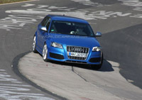 Future Audi RS3: sur le Ring'!