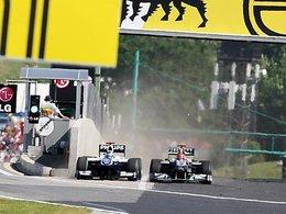[vidéos] F1 Hongrie : Schumacher vs Barrichello : la limite franchie ?