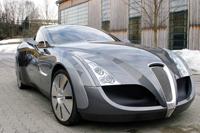 Russo-Baltique Impression : une autre Batmobile