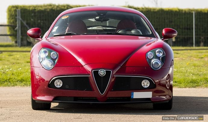 Photos du jour : Alfa-Romeo 8C Competizione (Rallye d'Aumale)