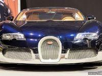 Photos du jour : Bugatti Veyron Soleil de Nuit (Rétromobile)