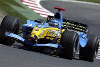 Le team Renault F1 a assuré