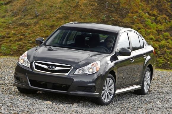 New York 2009 : la nouvelle Subaru Legacy se dévoile