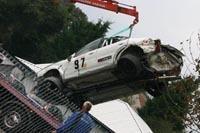 Video : le crash impressionnant de l'évo 6 Norris Design