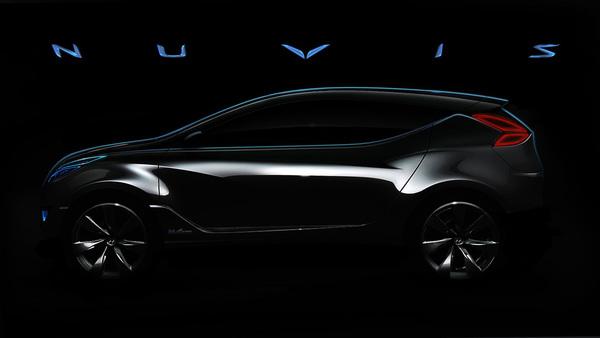 New York 2009 : Hyundai Nuvis Concept, teasé mais déjà débusqué