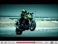 Nouveauté Kawasaki 2011 : La Z750R montre les crocs en vidéo