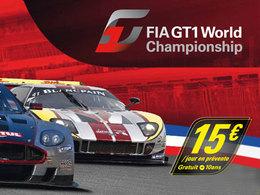 Agenda : le FIA GT1 au HTTT Paul Ricard les 16 et 17 juillet
