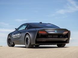 BMW présente un prototype d'i8 à hydrogène