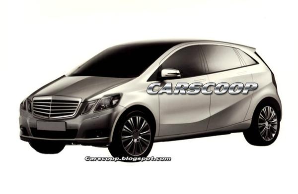 Future Mercedes Classe B : est-ce bien elle ?