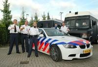 Une BMW M3 Coupé E92 Police !