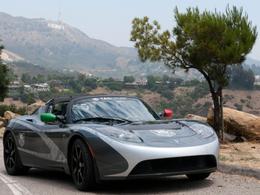 Des nouvelles du tour du monde en Tesla Roadster TAG Heuer électrique