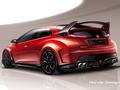 Toutes les nouveautés du salon de Genève 2014 - Honda Civic Type R Concept : bientôt