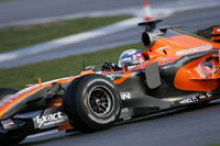 F1 : Adrian Sutil et Spyker gardent leur point