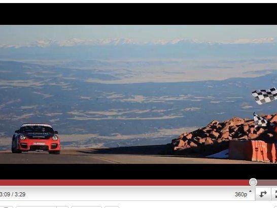 [vidéo] Pikes Peak  2011 : Jeff Zwart bat un record en Porsche 911 GT2 RS