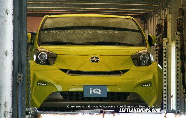 New York 2009 : la Scion IQ Concept entraperçue