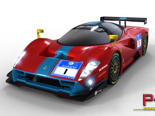 Future Ferrari P4/5 Competizione : le rendu final