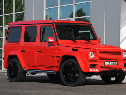 Le Diable s'habille en Prada mais il roule en Mercedes G 55 Brabus