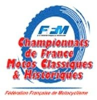 Calendrier prévisionnel du Championnat de France de Vitesse Motos Anciennes.