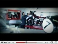 La Moto Guzzi V7 Racer 2011 en vidéo