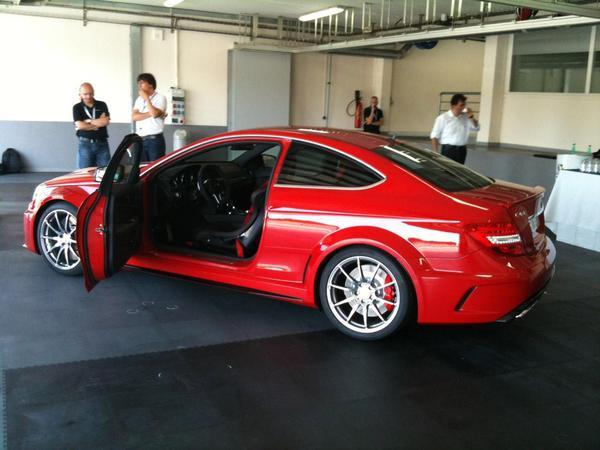 La Mercedes C63 AMG Coupé Black Series sera présentée le 24 juillet, au Nürburgring