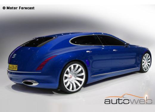 Bugatti : le retour de la Royale à Francfort ?