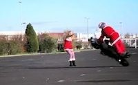 Stunt: Jorian Ponomareff en mode Noël (vidéo)