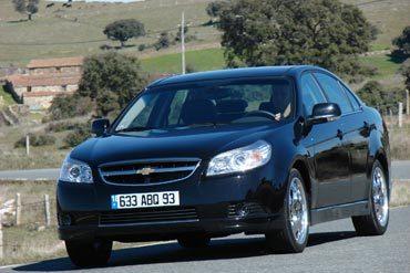 Chevrolet Epica 2.0 VCDI 150 ch - (Mars 2007)