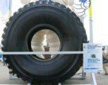 Salon Intermat, l'automobile démesurée (1/2): Les pneumatiques.