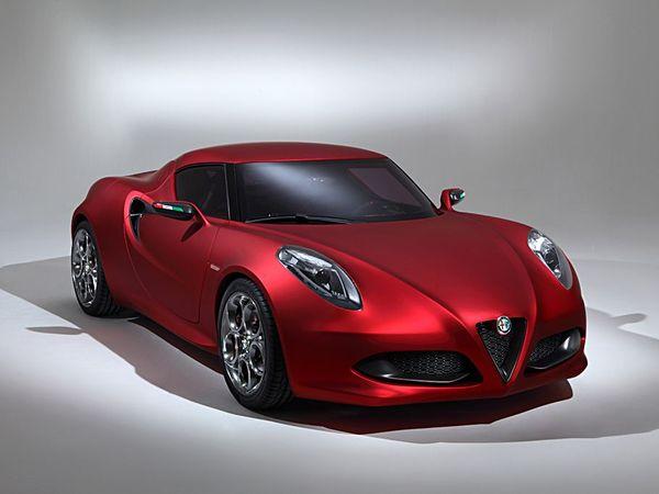 Venez découvrir l'Alfa Romeo 4C à Paris