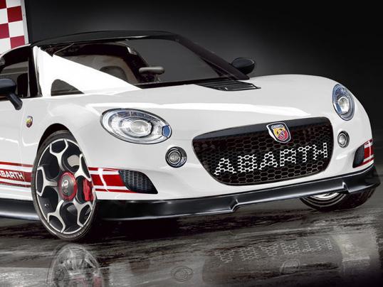 Futur roadster Abarth: avec un châssis de KTM X-Bow?