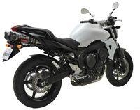 La Yamaha FZ6 équipée en Devil Rocket
