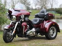 Essai vidéo - Harley Davidson Triglide : quand Harley rime avec permis B
