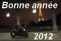 Caradisiac moto : tous réunis pour vous souhaiter une bonne année 2012