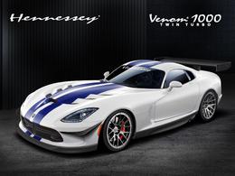 Hennessey Venom 1000/700R: vous avez dit nouvelle Viper?