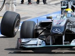 Brawn explique la perte de roue de Rosberg